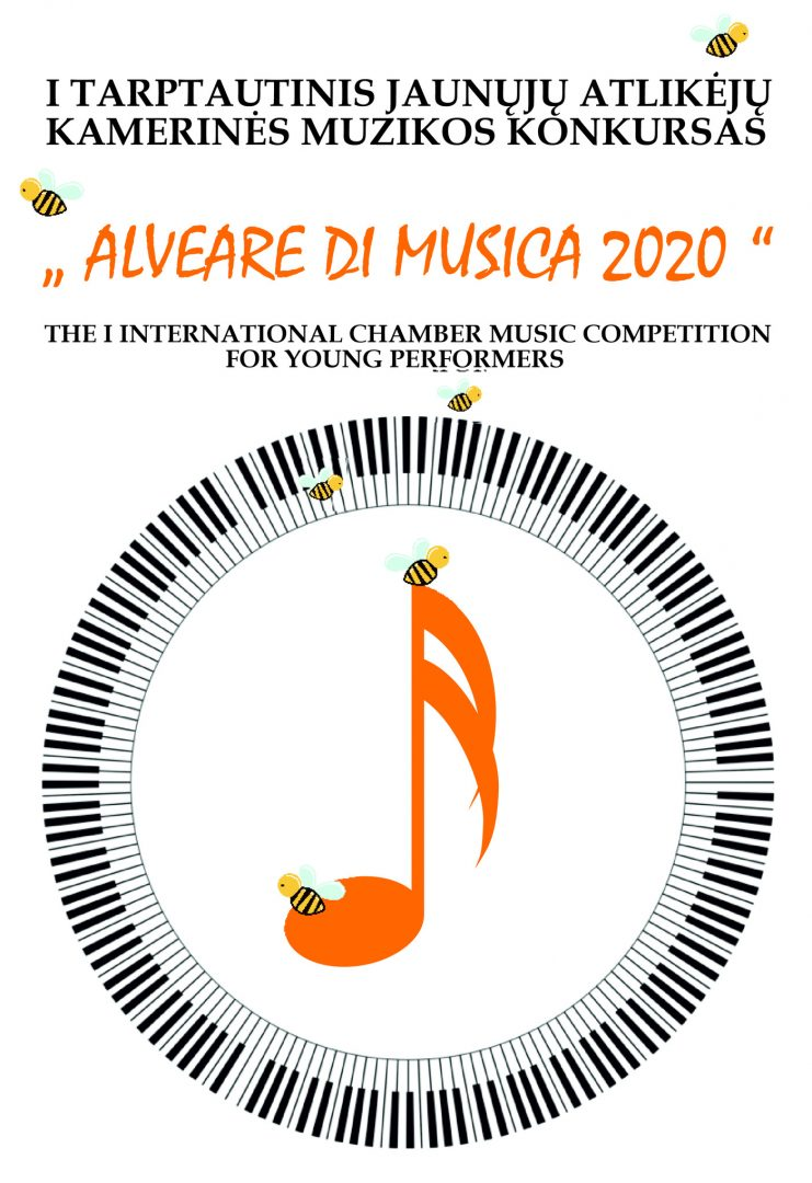 """I starptautiskais jauno izpildītāju kamermūzikas konkurss """"Alveare di musica 2020 """" *Lietuva)"""
